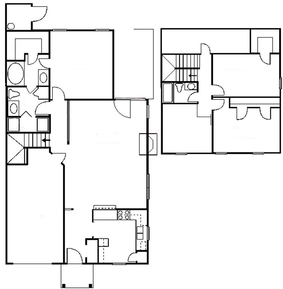 For rent 5335 johnston mill court townhouse for rent for Jmc homes floor plans